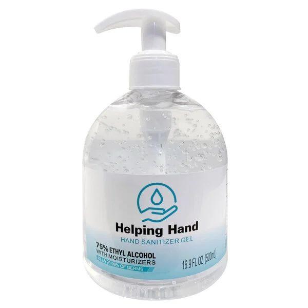 Hand Sanitizer 16.9oz Bottle w/ Pump - Case of 12