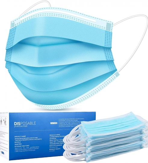Disposable Surgical Mask – 50 Count (MK001)