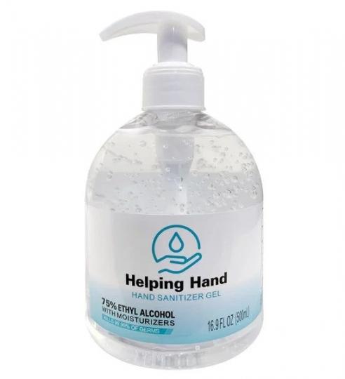 Hand Sanitizer 16.9oz Bottle w/ Pump – Case of 12
