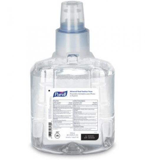 Hand Sanitizer Foam Refill – Case of 2 Cartridges